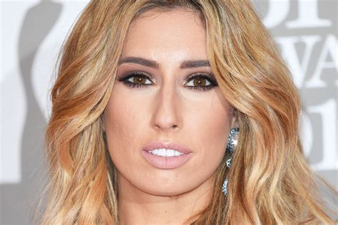 The itch of the golden nit. Stacey Solomon hits out at beauty industry after being offered Botox at 28