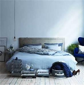 Gris Et Bleu : quelle couleur pour une chambre favorisant le repos ~ Dode.kayakingforconservation.com Idées de Décoration
