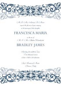 proper wedding invitation wording formal invitation template best template collection