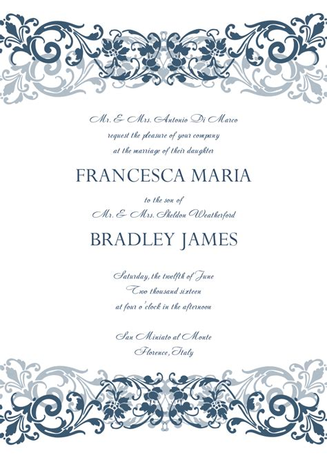 wedding invite template download beautiful wedding invitation templates ipunya