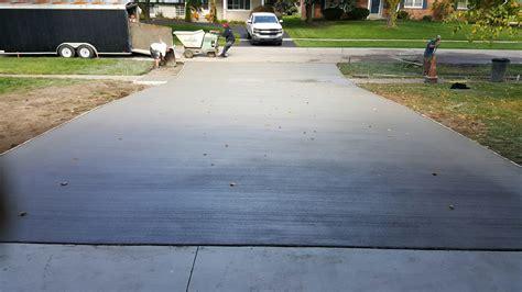 cement driveway replacement reliable custom concrete inc