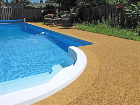 rubberized pool deck coating flex roc drytech construction