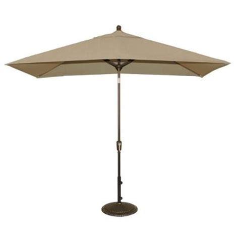 sunbrella patio umbrella rectangular blue wave adriatic 6 1 2 ft x 10 ft rectangular patio
