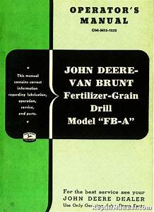 John Deere Van Brunt Model Fb
