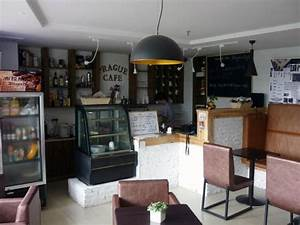 Inside the coffee shop - Picture of Prague Cafe, Xiamen ...