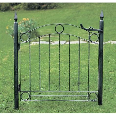 metal garden gate smalltowndjs