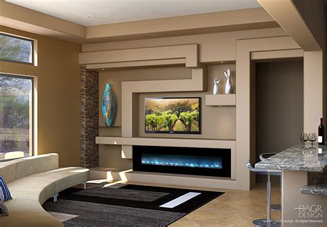 modern ideas for living rooms modern media wall design trending choice dagr design