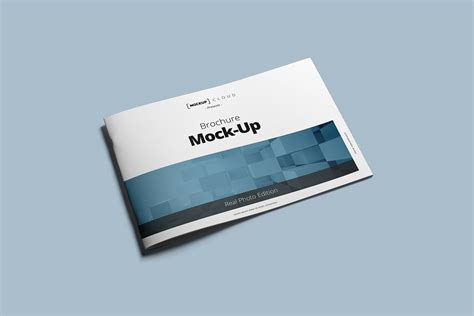 Brochure Mockup Landscape Brochure Mockup Mockup Cloud