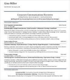 communication professional resume sles professional resume sles 9 free word pdf documents free premium templates