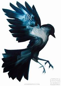 Gorgeous bird paintings by adam s doyle colossal for Gorgeous painted birds by adam s doyle
