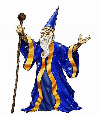 Wizard Transparent Clipart Clip Icon Magician Crazy