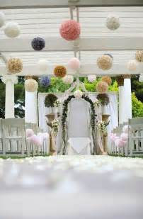 deco mariage pastel outdoor wedding ceremony decorations decoration