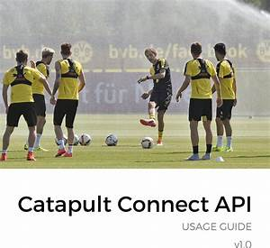 Catapult Connect Api Usage Guide