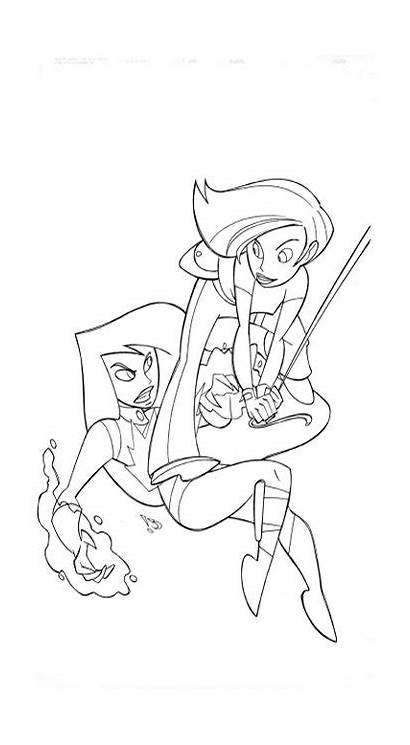 Coloring Pages Kim Possible Fun