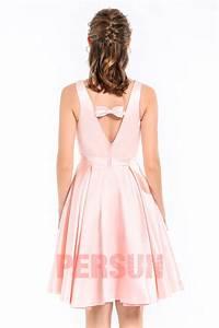 Robe Pour Temoin De Mariage : simple robe soir e rose courte pour t moin de mariage ~ Melissatoandfro.com Idées de Décoration