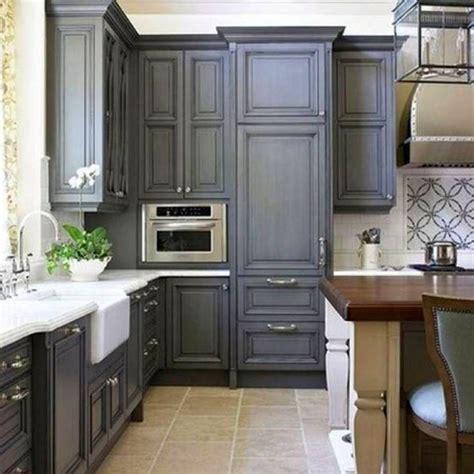 Grey Cupboards Kitchen by 17 Sleek Grey Kitchen Ideas Modern Interior Design
