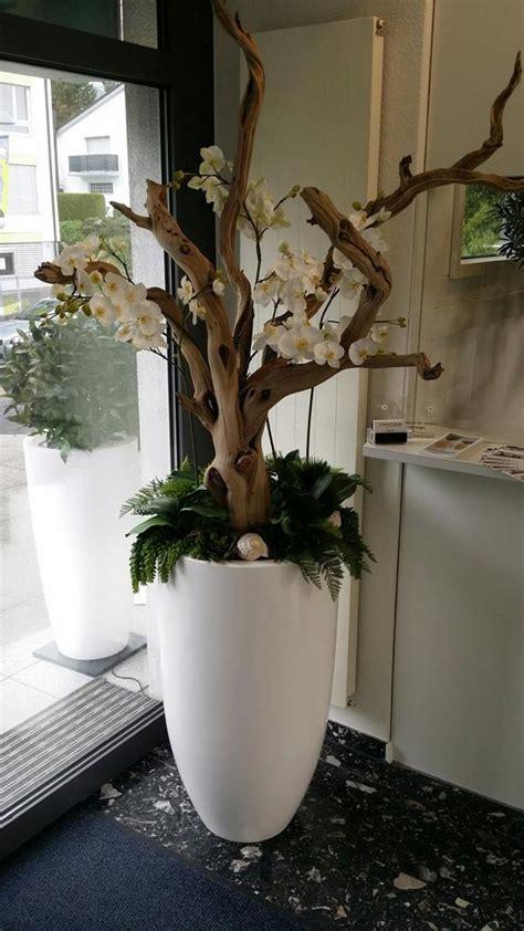 dekorieren mit kunstblumen grosses kunstblumen gesteck premium kunstpflanzen dekohaus ag