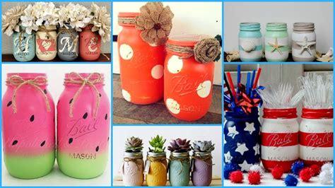Decorating Ideas For Jars by Diy Jars Crafts Ideas Diy Summer Room Decoration