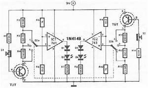 Gain Transistor Tester Circuit Diagram Project