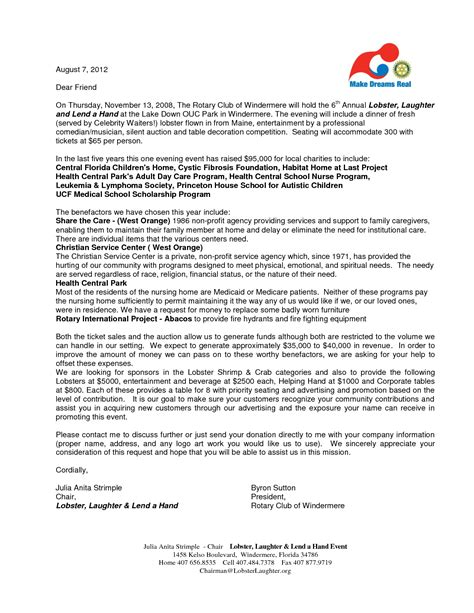 corporate sponsorship funds request letter  chainimage
