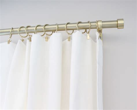 white curtain rod 12th and white my favorite inexpensive brass curtain rods