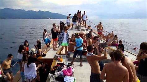 Yacht Party Bali by Dragoon 130 Party Boat Gili Bali Youtube