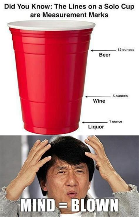 Red Solo Cup Meme - mind blown red solo cup dump a day