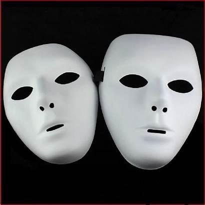 Mask Halloween Face Masks Plain Masquerade Hiphop