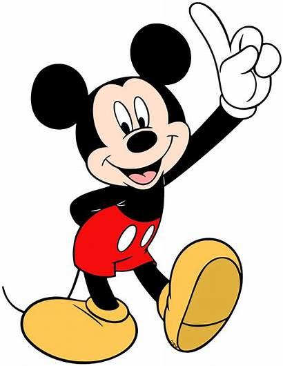 Mickey Mouse Clipart Clip Disney Holding Finger