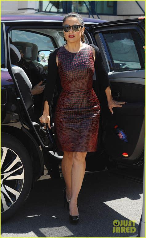 Diane Kruger Salma Hayek Get Silly For Cannes Talk Show