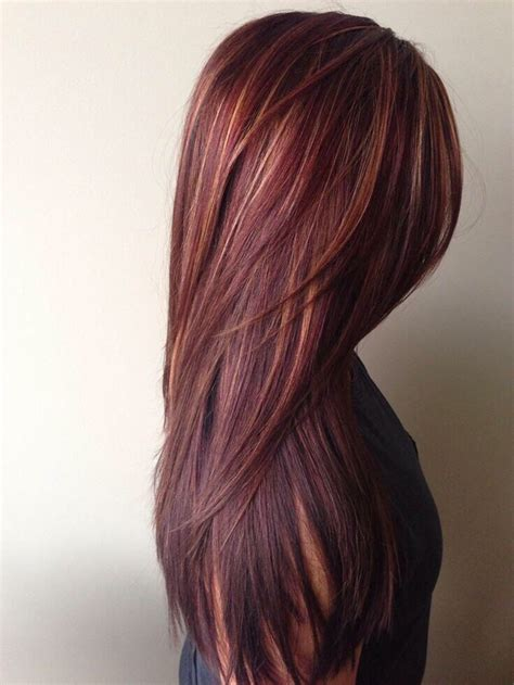 mix brown  red hair dyes