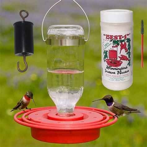 duncraft com best 1 hummingbird feeder 8 oz gift pack kit