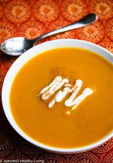 sweet spiced roasted butternut squash soup recipe vegan