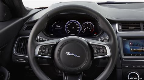 jaguar  pace interior steering wheel hd