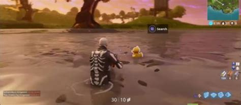 fortnite week  challenges rubber duck locations