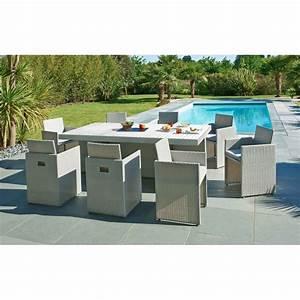 Table Jardin Design : table jardin design salon de jardin rond pas cher maisonjoffrois ~ Melissatoandfro.com Idées de Décoration