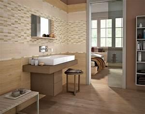 carrelage imitation parquet et parquet flottant 30 idees With carrelage imitation parquet salle de bain