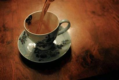 Tea Cup Flowers China Animated Gifs Te