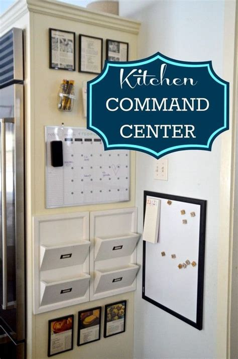 kitchen command center organization command centers center ideas and the family on 6587