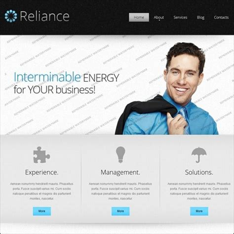 business website templates 40 high quality business website templates idevie