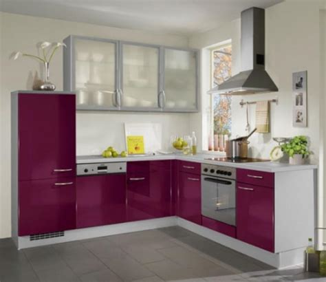 cuisine couleur aubergine leroy merlin palzon