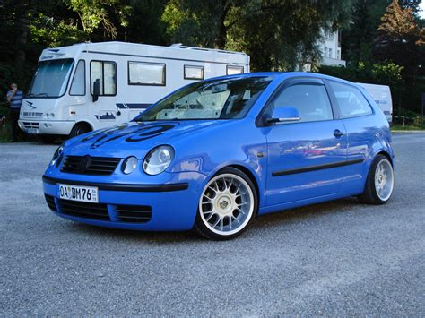 vw polo 9n tuning vw polo 9n tuning summerblue 02 schr 228 g vorne