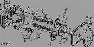 Roll Drive Gear Case  B03  - Mower  Conditioner John Deere 1209 - Mower  Conditioner