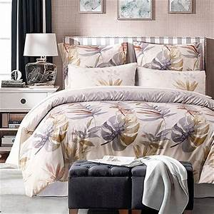Palace, Royal, 2, 3, 4pcs, King, Queen, Size, Duvet, Cover, Bed