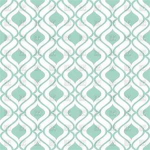 Simple green and white wallpaper with seamless geometric ...