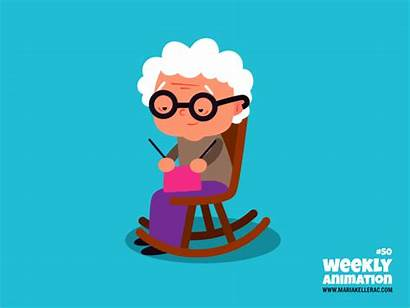 Grandma Animation Week Kellerac Vector Weekly Keller