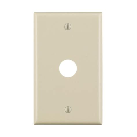 leviton 1 0 625 for telephone or tv wall plate