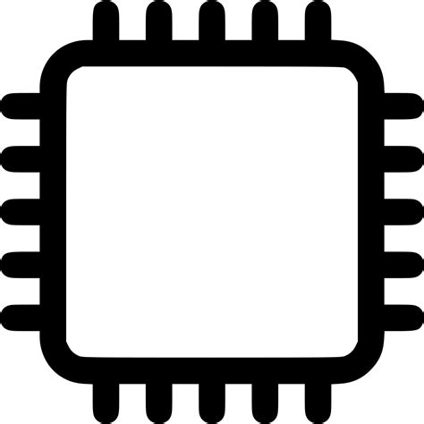 Microchip Svg Png Icon Free Download (#476053 ...