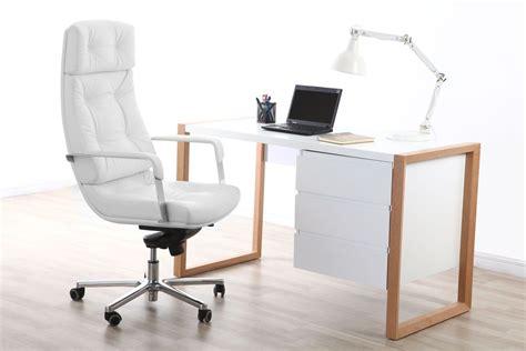 catgorie fauteuils de bureau page fauteuil de bureau cuir blanc adagio cuir de buffle