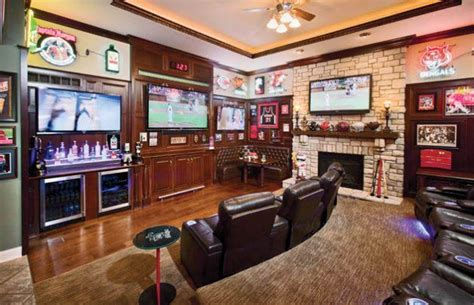 Sports Bar Furniture by Sports Bar Scores Big My Home Cave